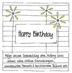 Send joy with handmade cards birthday cards Herzensgruesse; Send joy with handmade cards birthday cards