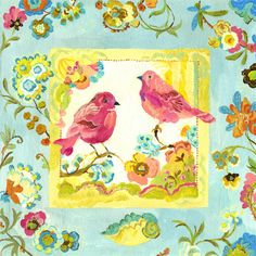 Lovebirds by Kimberly Hodges