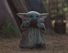 Star Wars is an American epic space opera franchise, created by George Lucas and centered around a film series that began with the eponymous Yoda Images, Yoda Pictures, Random Pictures, Funny Pictures, Baby Animals, Cute Animals, Yoda Meme, Star Wars Wallpaper, Disney Plus