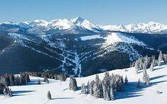 vail, colorado, ski slopes