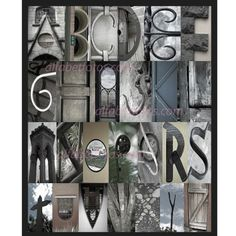Letter Made Out Of Objects.97 Best Letter Made Out Of Objects Images In 2017 Alphabet