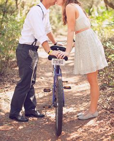 {Engagement Inspiration} : Vintage Bikes - Part 2 - Belle the Magazine . The Wedding Blog For The Sophisticated Bride