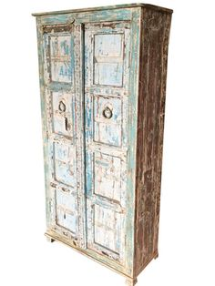 antique armoire reclaimed blue patina storage indian furniture mogulinterior indiancabinet indianarmoire indiafurniture indiaarmoire indiacabinet antique armoire furniture