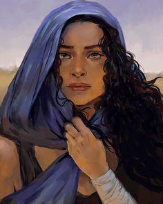Fantasy Portraits, Character Portraits, Character Drawing, Character Concept, Book Characters, Fantasy Characters, Female Characters, Elias Und Laia, Cyberpunk