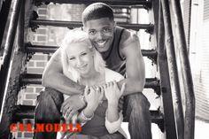 Model: Phil- Model: Shea- Nitor Jewelry shoot- Photographer: Tammy Pinkston- Black and white