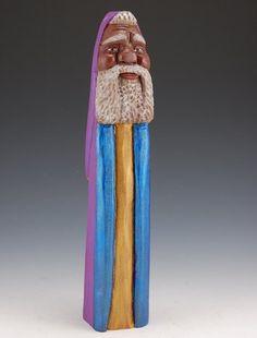 Black Pencil Santa.  Sold Out-unavailable.