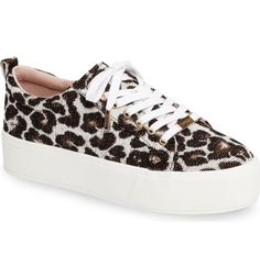 Swooning over these casual-cool sneakers set on a bold, flat platform.