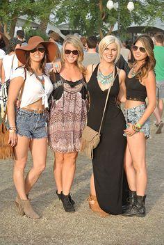 The 22 Best Street Style Looks From Coachella