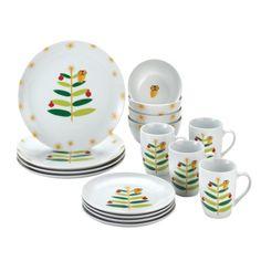 Rachael Ray Dinnerware Holiday Hoot