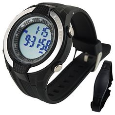 Heart Rate Monitor Pedometer Calories Count Exercises Sports Watch Sleep Mode Indicator -- Continue to the product at the image link. (Amazon affiliate link)