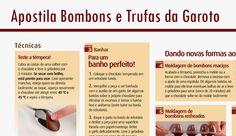 Apostila de Bombons e Trufas da Garoto | Creative