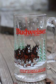 Budweiser Clydesdale Mug