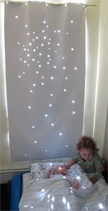star black out curtain