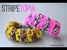 How to Make the Stripetopia Bracelet
