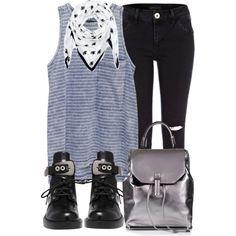 Untitled #1854 by amm-xo on Polyvore featuring rag & bone/JEAN, River Island, Balenciaga, Topshop and Kenzo