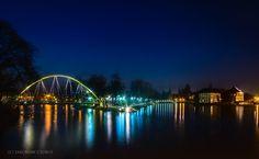 Słodowy Bridge and a part of Tumski Isle