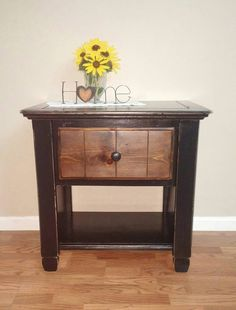 Check out this item in my Etsy shop https://www.etsy.com/listing/465537018/end-table-night-stand