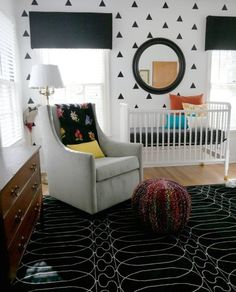 5 Bold Black & White Nurseries | Apartment Therapy