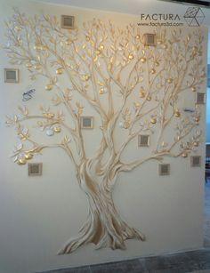 Барельеф в деталях.Учимся Создавать БАРЕЛЬЕФ Family Tree Wall Decor, Tree Wall Art, Diy Wall Art, Diy Wall Decor, Gold Painted Walls, Glass Painting Designs, Room Wall Colors, Wall Painting Decor, Music Wall Art