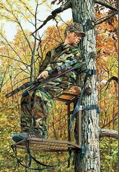 Rollie Brandt What's That Bowhunting Art Print-S/N