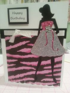 Forever Young cricut birthday card