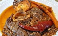 Beef Recipes: Portuguese Braised Beef Shanks Recipe