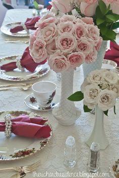 therichardresidence: afternoon tea bridal shower