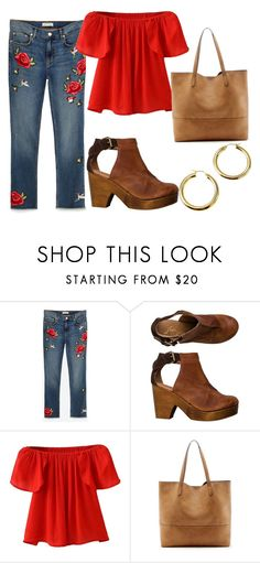 """""""Try Embellished Pants"""" by sassyladies ❤ liked on Polyvore featuring Free People, WithChic and Sole Society"""