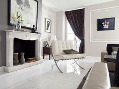 Floor: Carrara Blanco Brillo  http://www.porcelanosa-usa.com/home/products/tile/floor.aspx/d=14822/title=Marmol_Carrara_Blanco_Brillo