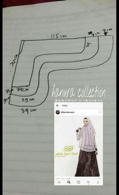 Tutorial hijab pattern