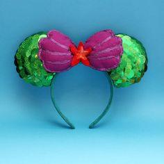 Ariel Disney Ears by HeelsPlusEars on Etsy