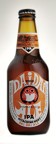 "DAi DAi IPA: IPA brewed with Japanese wild breed mandarin ""Fukure Mikan"". Refreshing flavor of this mandarin complements well with citrusy hop. The perfect balance act of hop bitterness and Umami taste."