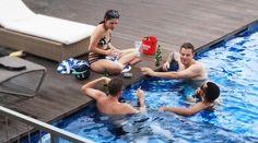Happiness is Happy Hour | 4pm - 6pm 🍻🍻 #J4Hotels #LegianHotel #HotelLegianBali #RoofTopPool #Beer #Cocktail #LifestyleHotel #Lifestyle #HotelBali #Holiday #InstaTravel #Vacation #LegianBali #Wanderlust #Destination #LegianStreet #RoofTopSwimmingPool #Bali #NightClub #HappyHour #Traveler #Backpacker #Party #Pool #Friends #BFF #SkyPool