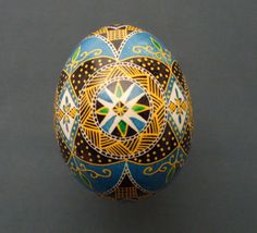 Ukrainian Chicken Pysanka / Easter egg  #8