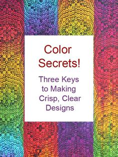 Do you have trouble picking colors that stay bright when woven into your handwoven cloth? This post will teach you the two secrets to color success.