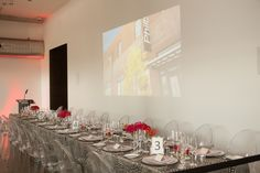 Audio Visual needs are meet as well for all types of events.