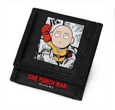 2016 NEW SUPERMAN PUNCH SURROUNDING WALLET CARTOON HIT MAN SAITAMA ONE PUNCH-MAN HAIR GONE