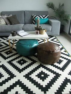 BEST Living Room Ideas – Geometric decor is good for any modern space, it's unaltered and its touches is nice for any decor vogue. these days we'll take a