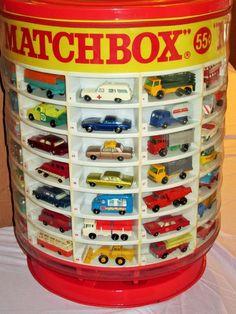Complete 1960's Lesney Matchbox 1-75 Set DEALER DISPLAY  in Orig. Shipping Box #Matchbox