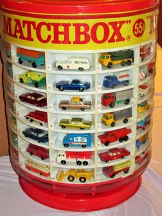 Complete 1960's Lesney Matchbox 1-75 Set DEALER DISPLAY in Orig. Shipping Box
