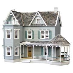 Have to have it. Real Good Toys Glenwood Dollhouse with Curved Stairs $629.99