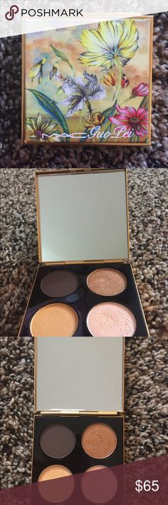 Limited Addition Mac Quad Palette Quad eyeshadow palette. Three shimmer shades and one matte shade. Never been used. MAC Cosmetics Makeup Eyeshadow