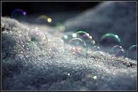 Snowy bubbls