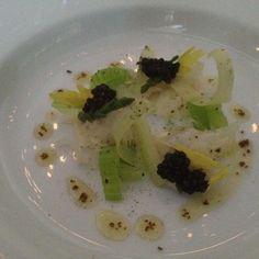 Surprise Sashimi and Caviar Dish prepared by Chef David Bull @ Congress Restaurant in Austin