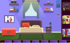 Periwinkle Home Escape:In this game, you try to escape the room by finding items and solving puzzles.