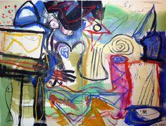 Diptyque, 2010, 195 x 260 cmAu Musée Félicien Rops à Namur.Voir l'extrait (...)