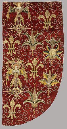 Вышивка золотой нитью. Английская вышивка: история, техники, сюжеты
