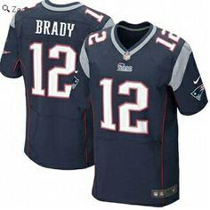 Tom Brady New England Patriots Nike Elite Jersey – Navy Blue
