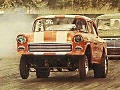Vintage Drag Racing - Gasser - 55 Chevy