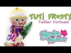 DIY. Tuty Frosty Muñeco De Nieve En Goma E.v.a - YouTube